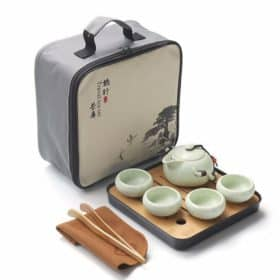 Portable Travel Light Chinese Kung Fu Tea Set Image