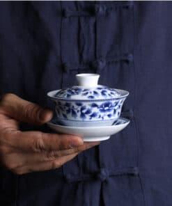 Qinghua Porcelain Gaiwan