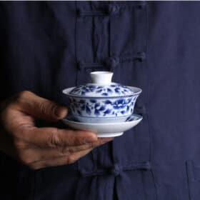 青花瓷蓋碗 Image